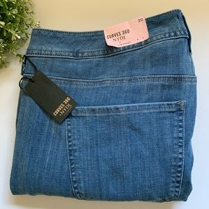 NYDJ in Curves 360 Shape Jean Slim Straight